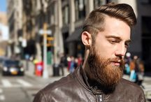 New Hairstyles for Men: Natural Finish + Movement / A collection of modern men's hairstyles with a natural finish and movement to the hair.  #menshair #menshairstyles #hairstylesformen