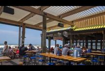 Restaurant Renovations / Equinox Louvered Roofs allow restaurants to increase outdoor dining capacity without major renovation. Featuring a fixed frame with adjustable aluminum louvers, our roofs let your customers enjoy the outdoors -- rain or shine.