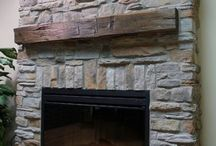 Fireplace / New house fireplace gas or electric