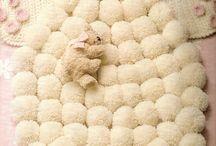 alfombra muñecos
