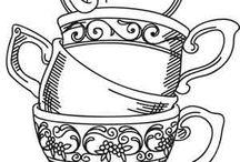 Zeichnungen Tassen