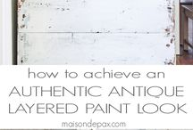 Paint Projects / paint projects and makeovers using paint, painted furniture makeovers / by krista@thehappyhousie