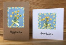 Handmade Easter Cards / Unique handmade greeting cards, made individually from my home and sold in local shops.