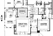 Architecture - Floor Plans / by Chriss Flagg