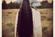 hermosos cabellos