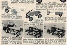 Pedal cars
