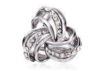 Prstene na šatky a šále / Prstene na hodvábne šatky a šále značky MarieJean.eu. Prstene sú ručne vyrábané a špeciálne navrhnuté tak, aby dokonale splynuli z ručne maľovanými hodvábnymi šatkami alebo šálami.