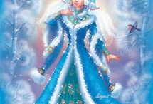 królowa  sniegu