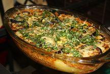 padlizsán-cukkini és egyéb zöldséges ételek