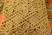 Macrame Table Cover