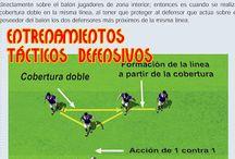 entrenamiento defensores