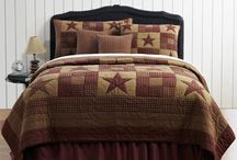 Country & Primitive Quilts / Quilts, pillows, bedding, and bedroom décor in country, primitive, shabby chic, boho, and tween styles!