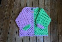 Crochet Gilet Pull etc Bébé Enfant
