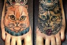 Cattoos / Cat tattoos
