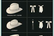 hats n ties n collars