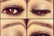 braune Augen Male up