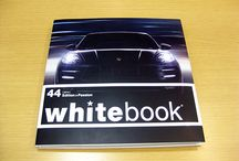 Porsche Whtiebook / ポルシェが不定期に発行している異なる業種の高級ブランドや情報が掲載されたスペシャルマガジンです。  www.kobe-porsche.jp