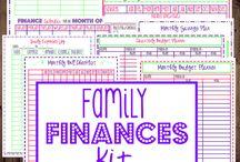 finance printables