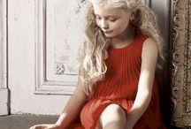 Children in designer wear