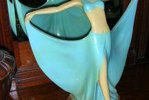 figurines art Deco