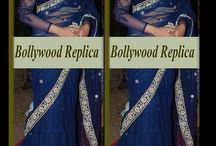 Bollywood Replica Sarees / Shop online for latest Bollywood replica sarees collection at affordable rates from http://www.sareesbazaar.com