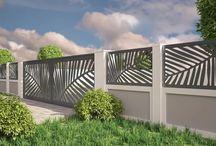Exterior Fences Laser cut