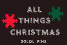 ALL THINGS CHRISTMAS / #Christmas #ChristmasDIY #ChristmasFood #ChristmasRecipes #ChristmasDecor #ChristmasCrafts #ChristmasDinner #ChristmasDesserts