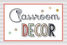 Classroom Decor {Kinder Tribe}