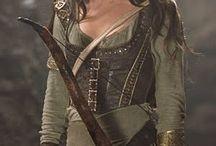 GenderBent Robin Hood / Character, setting,  and clothing inspiration for the gender bent Robin Hood novel I've been writing.