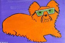 Paintings/Sunglasses Pets