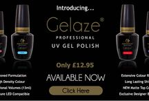 Gelaze® UV Gel Polish / Gelaze UV Gel Polish,  High Colour, High Shine