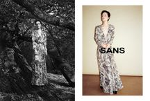 SANS, aw 2015 campaign by Bartek Wieczorek / LAF Artists Management / To download high or low resolution product images visit Mondrianista.com (editorial use only).