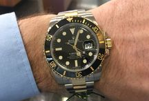ROLEX Submariner steel-gold