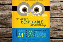 Birthday Invitations / by Amber Crutcher Carswell