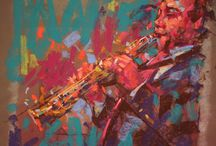 Art - Jazz  / Jazz 1 in chalk pastel