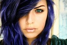 Hair Color Inspired by BLUE