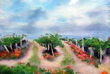 Pintura de Javier Úcar - 2015 - 2016 / Obra pictórica realizada durante el año 2015