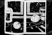 Illustration / Anna Mu illustration ◂ black and white hand drawing ◂ graphic art