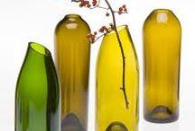 Crafty shit / Wine bottle vases
