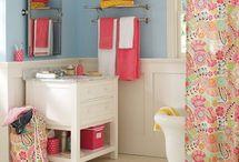 Girls' Bathroom Ideas / by Amy Wright Volentine