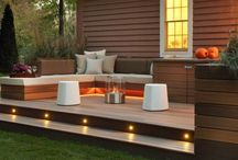 Small decking areas