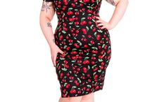 Plus Size Dresses (December 2015) / Pin up style dresses available at Closet Confessions Boutique