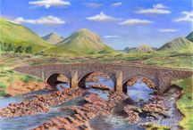 Art- British Stone Bridges