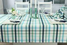 Fleckgeschützte Tischdecken