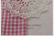 Centrini all'uncinetto - Crochet doilies