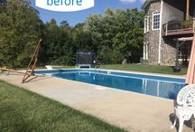 Pool Makeovers / Brooks Malone can help you breathe some life and excitement into a tired old pool. Let our award-winning design team work with you to incorporate features and finishes that will take your exisiting pool area to a whole new level.
