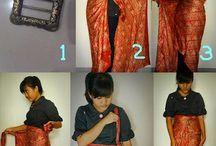 Sarong -> skirt