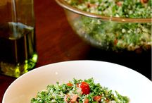 Salads and non cooked recipes