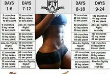 24 dagen schema/ workout