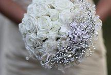 csokor / brooche bouquet